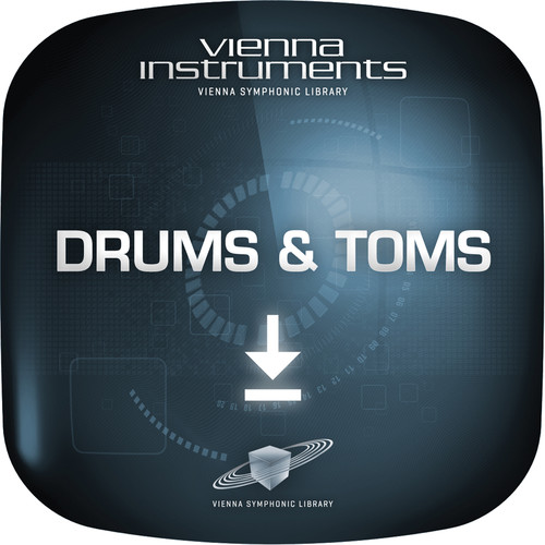 Vienna Symphonic Library Drums & Toms - Vienna Instruments (Standard Library, Download)