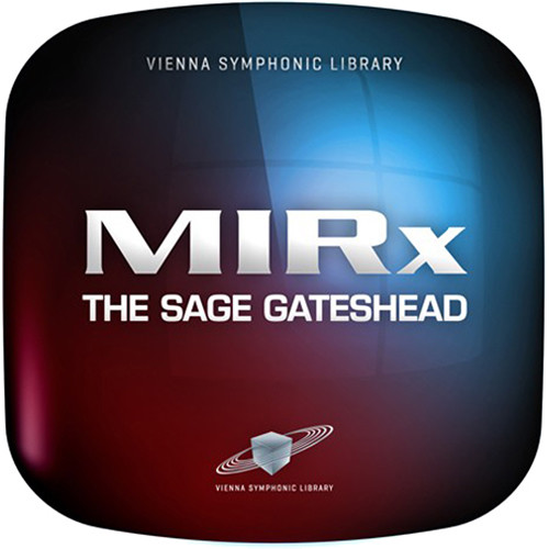 Vienna Symphonic Library MIRx The Sage Gateshead - MIRx Reverb Mixing Extension (Download)