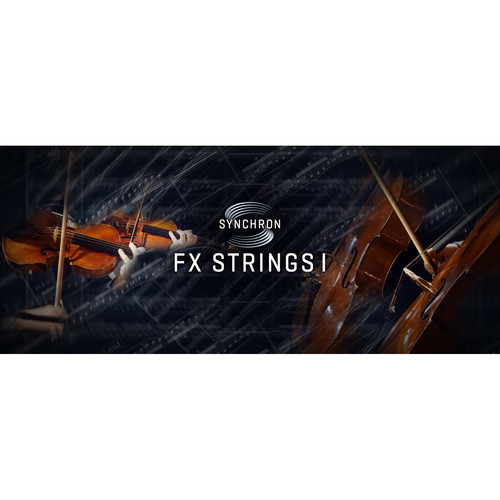 Vienna Symphonic Library Synchron FX Strings I Full Library - Virtual Instrument (Download)
