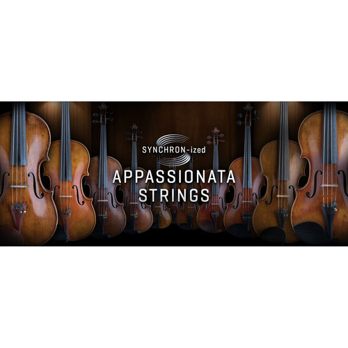 Vienna Symphonic Library SYNCHRON-ized Appassionata Strings - Virtual Instrument (Upgrade to Standard,Download)