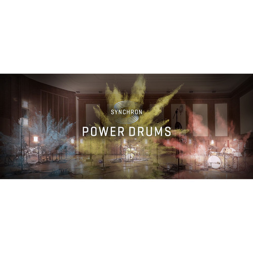 Vienna Symphonic Library Synchron Power Drums Upgrade - Virtual Instrument (Upgrade to Full Library, Download)