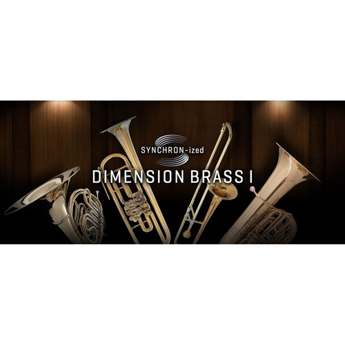 Vienna Symphonic Library SYNCHRON-ized Dimension Brass I - Virtual Instrument (Download)