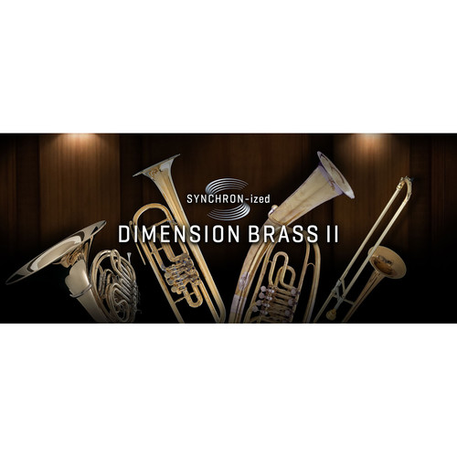Vienna Symphonic Library SYNCHRON-ized Dimension Brass II - Virtual Instrument (Download)