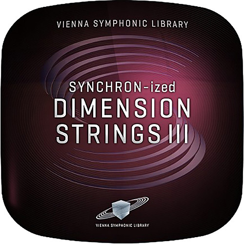 Vienna Symphonic Library SYNCHRON-ized Dimension Strings III Sul Tasto Virtual Instrument (Download)
