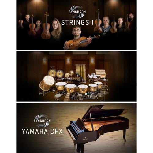 Vienna Symphonic Library Standard Synchron Package - Virtual Instrument with Strings, Piano & Percussion (Download)