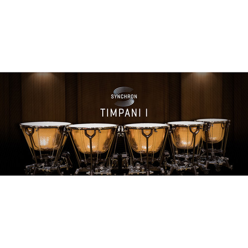 Vienna Symphonic Library Synchron Timpani I Full Library Upgrade - Virtual Instrument (Download)