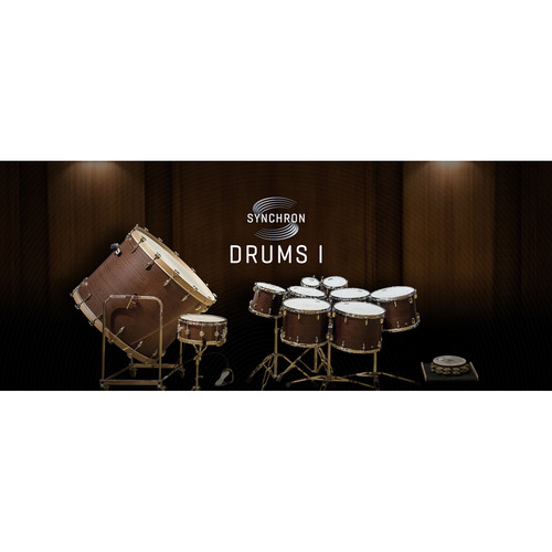 Vienna Symphonic Library Synchron Drums I Standard Library - Virtual Instrument (Download)