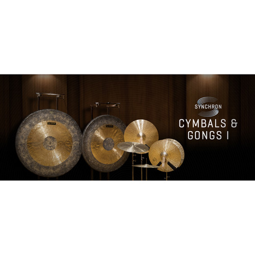 Vienna Symphonic Library Synchron Cymbals & Gongs I Full Library Upgrade - Virtual Instrument (Download)