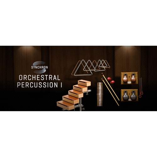 Vienna Symphonic Library Synchron Orchestral Percussion I Standard Library Virtual Instrument (Download)