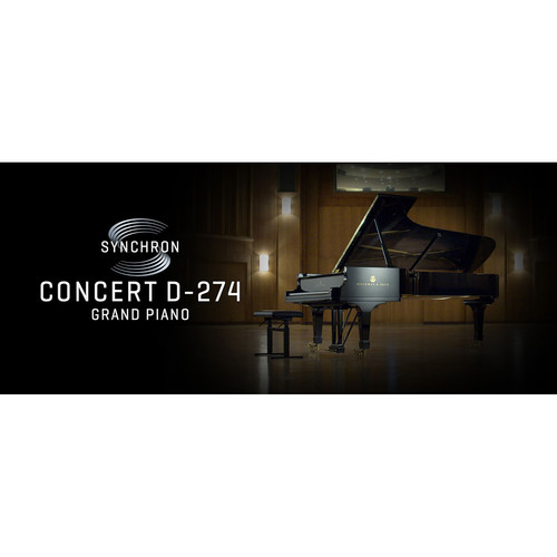 Vienna Symphonic Library Synchron Concert D-274 - Virtual Instrument for Composition & Sound Design (Full Library, Download)