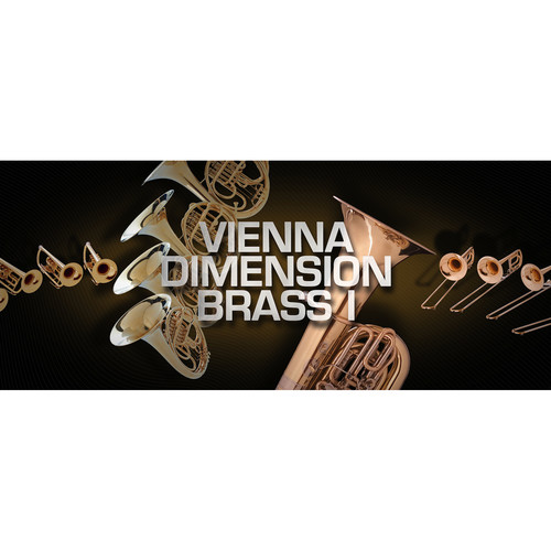 Vienna Symphonic Library Vienna Dimension Brass I Full Library Upgrade - Virtual Instrument (Download)