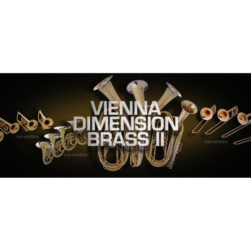 Vienna Symphonic Library Vienna Dimension Brass II Full Library - Virtual Instrument (Download)