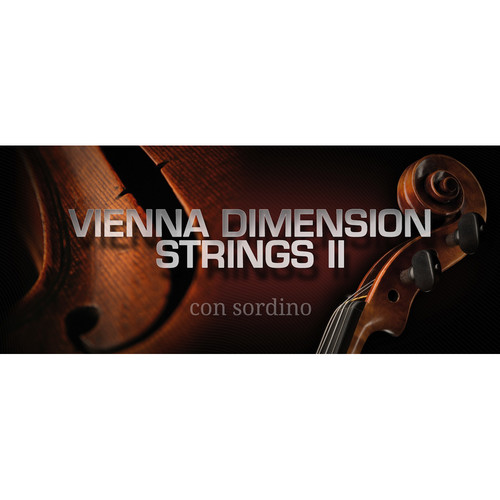 Vienna Symphonic Library Dimension Strings II Standard Library - Vienna Instruments (Download)