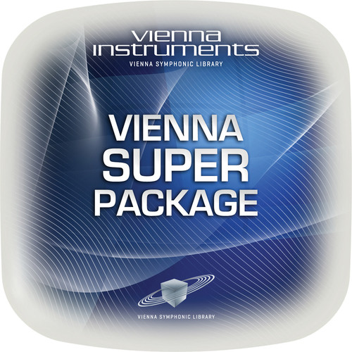 Vienna Symphonic Library Super Package - Vienna Instruments (Extended Library, Download)