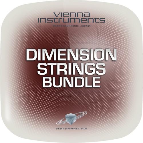Vienna Symphonic Library Vienna Dimension Strings Bundle Standard - Vienna Instruments (Download)