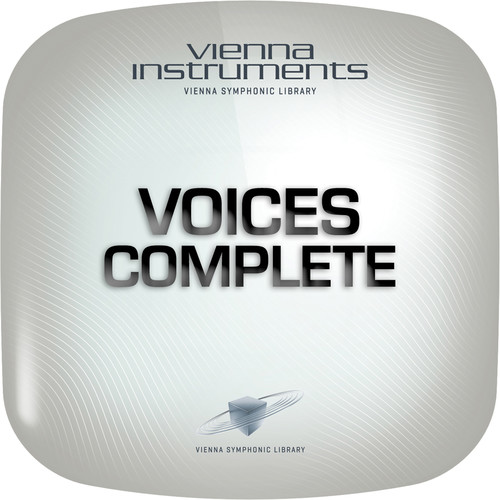 Vienna Symphonic Library Voices Complete Upgrade to Full Library - Vienna Instrument (Download)