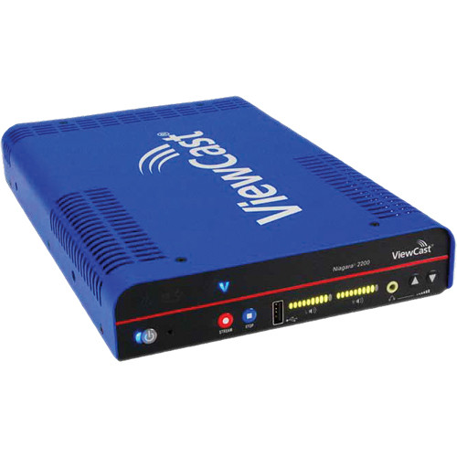 ViewCast Niagara 2120 to 2200 Streaming Media System Software Upgrade with Priority Response