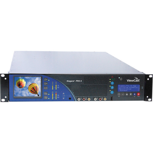 ViewCast Niagara Pro II 2U 2-Channel Rack-Mount Encoding System