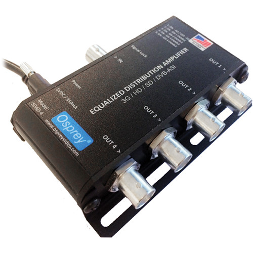 Osprey SDAD-4 USB Powered Equalized SDI Distribution Amplifier