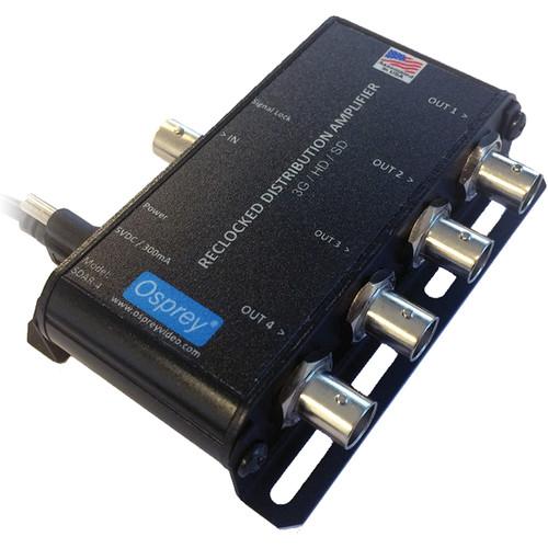 Osprey SDAR-4 USB Powered Reclocking SDI Distribution Amplifier