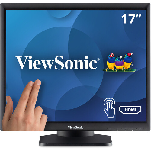 """ViewSonic TD1711 17"""" 5:4 Resistive-Touch LCD Monitor"""