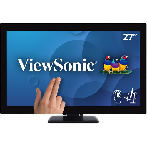 """ViewSonic TD2760 27"""" 16:9 Multi-Touch LCD Monitor"""