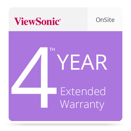 ViewSonic CD-EW-65-01 Extended On-Site Warranty