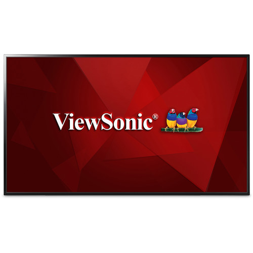 "ViewSonic CDE4803-H 48"" Full HD LED-Backlit Commercial Display with One-Wire HDBaseT Input"
