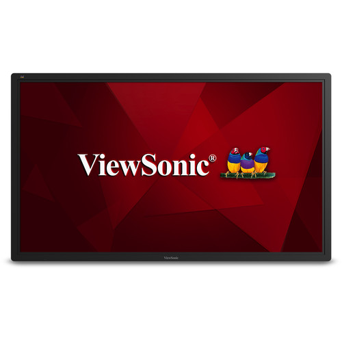 "ViewSonic CDE6502 65""-Class Full HD Commercial LED Display"