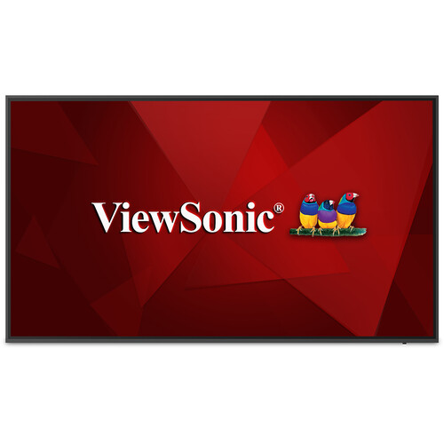 """ViewSonic CDE6520-W 65"""" Class 4K UHD Digital Signage and Conference Room LED Display"""