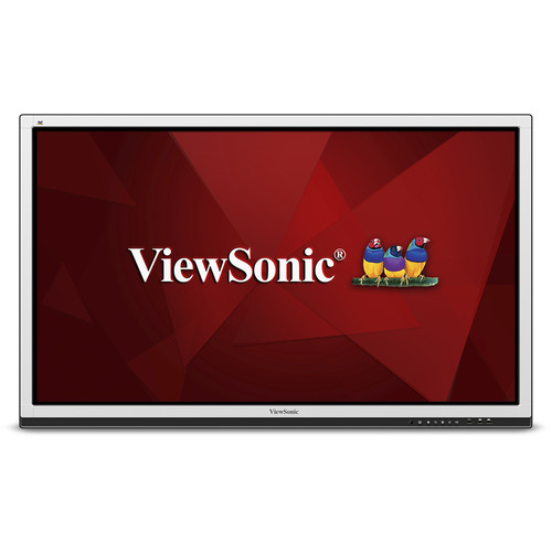 "ViewSonic CDE6561T 65""-Class 10-Point Touch Interactive Commercial Display"