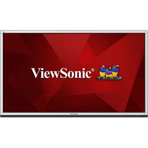 """ViewSonic CDE7561T 75"""" 20-Point Touch Full HD Interactive Commercial Display"""