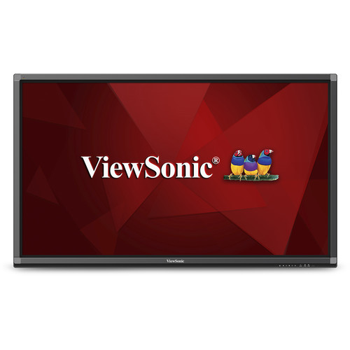 "ViewSonic CDE8452T 84""-Class 10-Point Touch Ultra HD Interactive Commercial Display"
