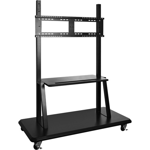 ViewSonic Rolling Trolley Cart Stand for CDE7051-TL & CED8451-TL Displays (Black)