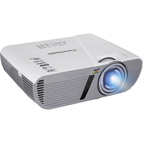ViewSonic PJD5553LWS 3200-Lumen WXGA Short Throw DLP Projector