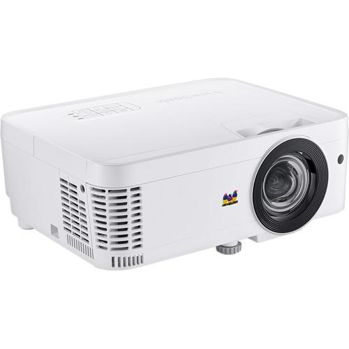 ViewSonic PS600W 3500-Lumen WXGA Short-Throw DLP Projector