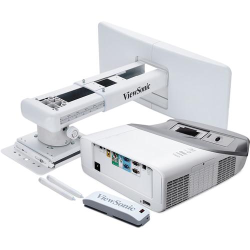 ViewSonic PS750HD 3000-Lumen Full HD Ultra-Short Throw Interactive DLP Projector