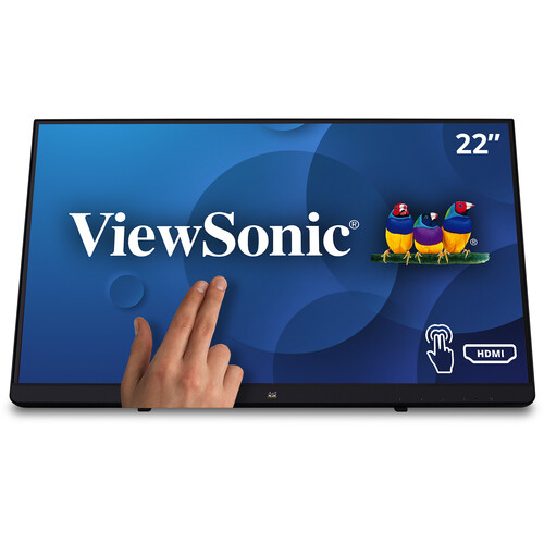"""ViewSonic TD2230 22"""" 16:9 Multi-Touch IPS Monitor"""
