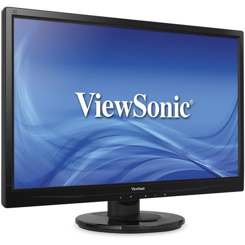 "ViewSonic VA2446m-LED 24"" LED Backlit LCD Monitor"