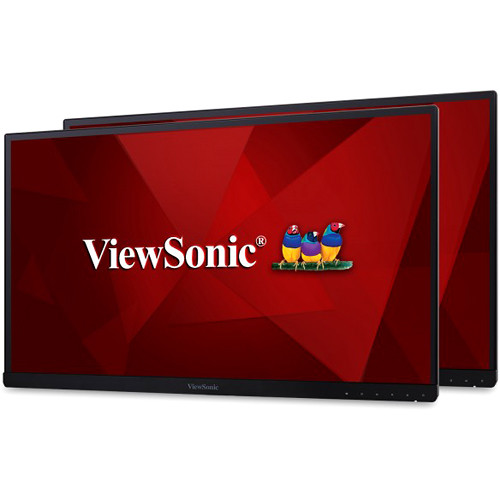 """ViewSonic VG2453_H2 24"""" 16:9 IPS Monitor (2-Pack, Without Stands)"""