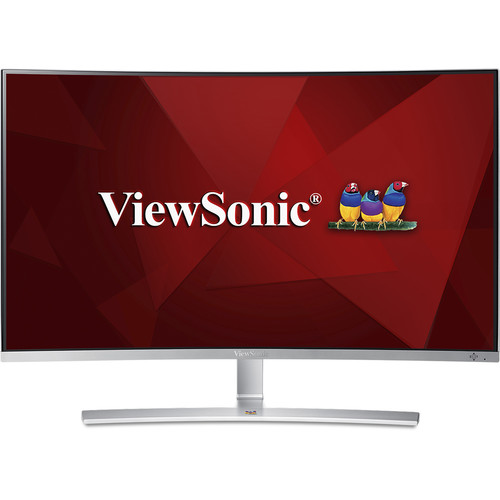 "ViewSonic VX3216-SCMH-W 32"" 16:9 Curved LCD Monitor"