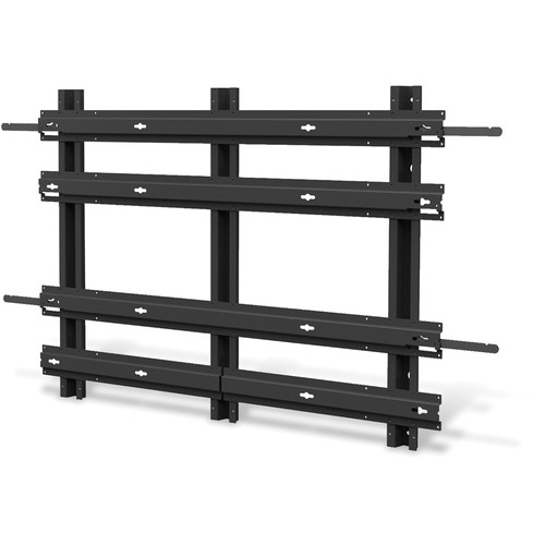 ViewSonic WMK-033 SmartView 2 x 2 Video Wall Mounting Frame for CD4636 LCD Display (Black)