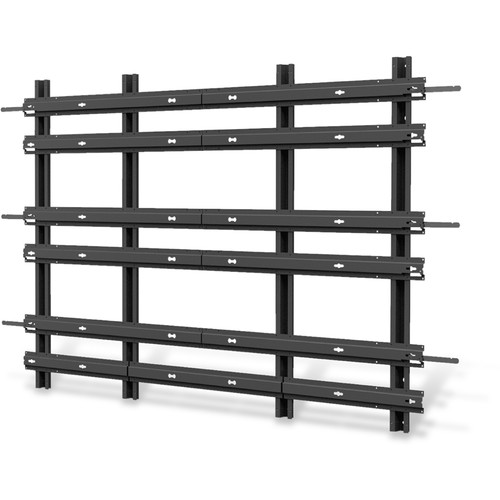 ViewSonic WMK-034 SmartView 3 x 3 Video Wall Mounting Frame for CD4636 LCD Display (Black)