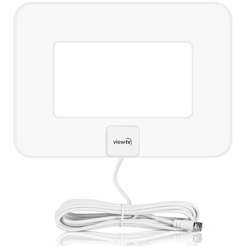 ViewTV VT-9047 Flat Amplified HDTV Antenna (White)