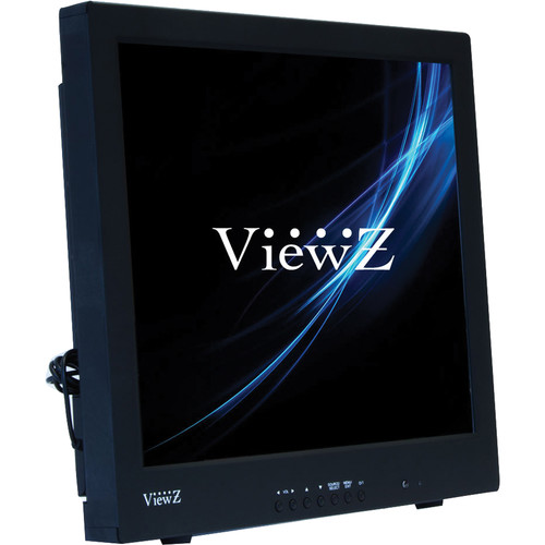 "ViewZ VZ-17RTC 17"" Commercial-Grade TFT LCD CCTV Monitor (Black)"