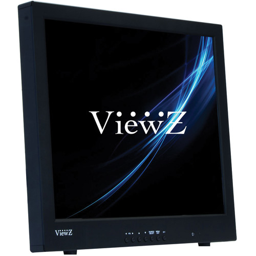 "ViewZ VZ-19RTC 19"" Commercial-Grade TFT LCD CCTV Monitor (Black)"