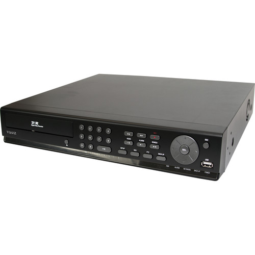 ViewZ VZ-8HyDVR 8-Channel Hybrid DVR with HD-SDI Support (No HDD)