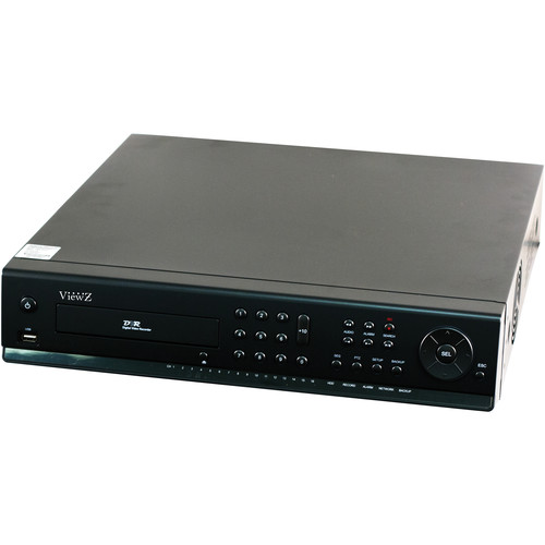 ViewZ 8-Channel 1080p DVR with 12TB Preinstalled HDD and DVD-R Drive