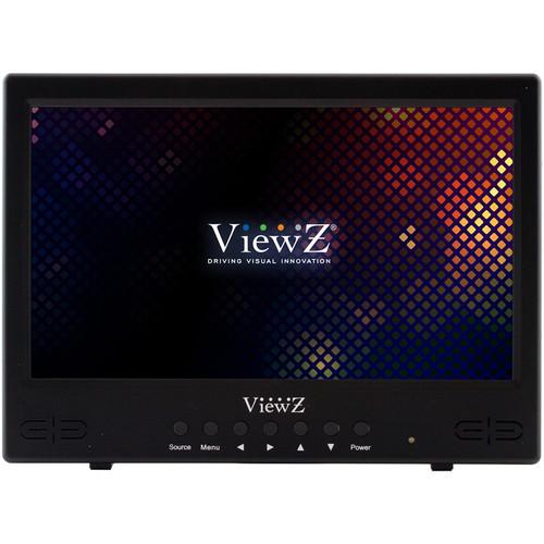 "ViewZ VZ-101RTC 10"" LED CCTV Monitor"