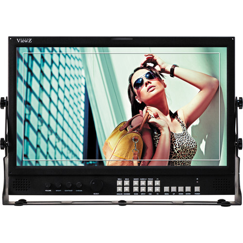"ViewZ VZ-185PM-P 18.5"" 3G-SDI & 8-Bit Video Production Monitor"